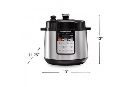 Hamilton Beach 6L Multi Function Pressure Cooker 34502-SAU