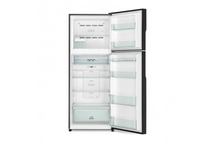 Hitachi 443L 2 Door Inverter Refrigerator R-VGX490PM9 GBK (Glass Black)