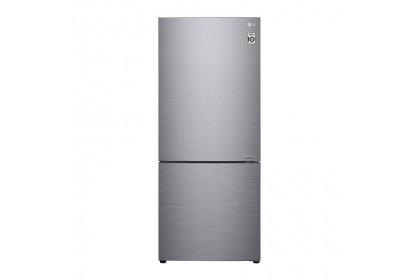 LG 454L 2 Door Inverter Bottom Freezer Refrigerator GC-B529NLCZ (Silver)