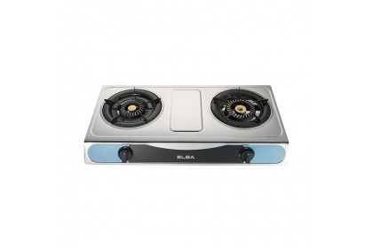 Elba 2 Burner Gas Cooker Stove EGS-F7112(SS)
